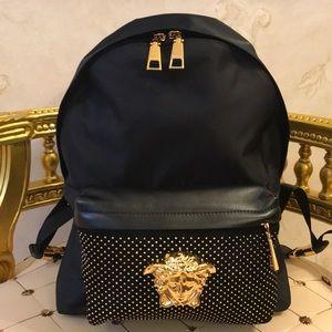 Handbags - Versace Medusa Backpack